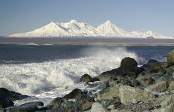Paisaje del mar. Fotos de archivo