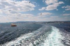 Paisaje del mar Foto de archivo libre de regalías