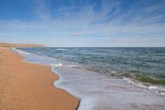 Paisaje del mar Foto de archivo