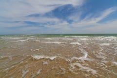 Paisaje del mar Fotografía de archivo