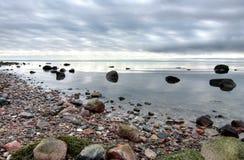 Paisaje del mar Báltico fotografía de archivo