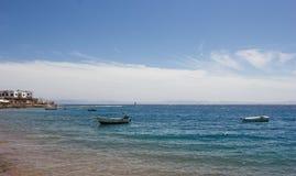 Paisaje del mar de Dahab Fotos de archivo libres de regalías