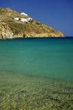 Paisaje del mar de Grecia Imagen de archivo