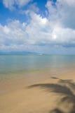 Paisaje del mar de Samui de la KOH con el lanzamiento Imagenes de archivo