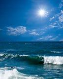 Paisaje del mar del verano fotos de archivo libres de regalías
