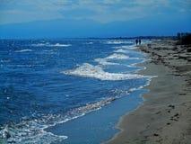 Paisaje del mar del verano Fotos de archivo