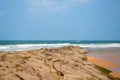 Paisaje del mar en el norte de España foto de archivo libre de regalías