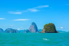 Paisaje del mar en Tailandia Fotografía de archivo