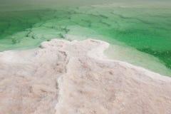 Paisaje del mar muerto Fotos de archivo
