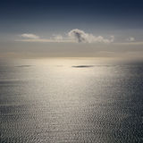 Paisaje del mar tranquilo Imagen de archivo libre de regalías
