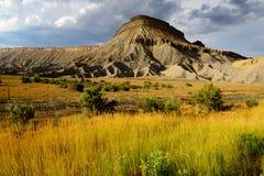 Paisaje del monumento nacional de Colorado Fotografía de archivo