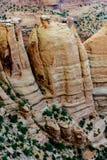 Paisaje del monumento nacional de Colorado Imagen de archivo libre de regalías