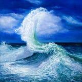 Paisaje del océano imagen de archivo