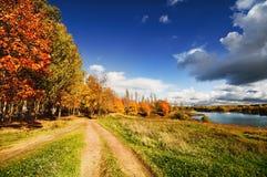 Paisaje del otoño imágenes de archivo libres de regalías