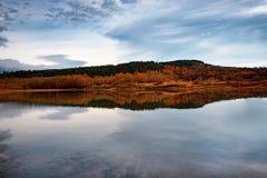 Paisaje del otoño, Bulgaria Foto de archivo