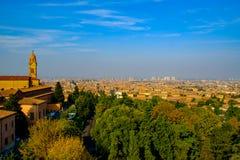 Paisaje del otoño de Bolonia Imagen de archivo