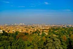Paisaje del otoño de Bolonia foto de archivo