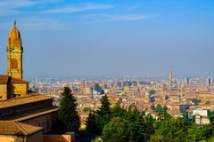 Paisaje del otoño de Bolonia Fotografía de archivo