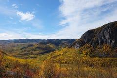 Paisaje del otoño de Charlevoix Fotos de archivo libres de regalías