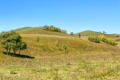 paisaje del otoño de la ladera Imagen de archivo