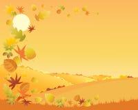 Paisaje del otoño Imagen de archivo libre de regalías