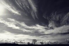 Paisaje del otoño de la foto Fotos de archivo libres de regalías