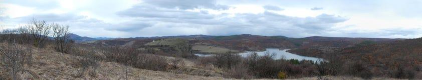 Paisaje del panorama Fotografía de archivo
