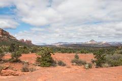 Paisaje del parque de estado rojo de la roca Foto de archivo libre de regalías