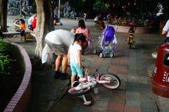 Paisaje del parque de Shenzhen Xixiang Fotografía de archivo libre de regalías
