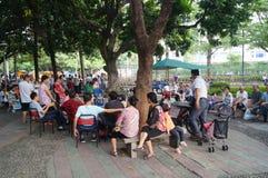 Paisaje del parque de Shenzhen Xixiang Imagen de archivo