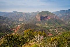 Paisaje del parque nacional de Amboro en Bolivia fotografía de archivo