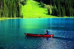Paisaje del parque nacional de Banff Imagen de archivo libre de regalías