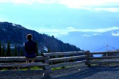 Paisaje del parque nacional de Banff Imagenes de archivo