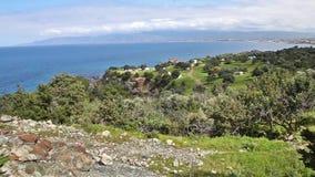 Paisaje del parque nacional de la península de Akamas, Chipre almacen de metraje de vídeo
