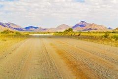 Paisaje del paso de Spreetshoogte en Namibia Foto de archivo
