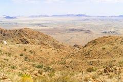 Paisaje del paso de Spreetshoogte en Namibia Imagen de archivo