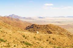 Paisaje del paso de Spreetshoogte en Namibia Imagenes de archivo