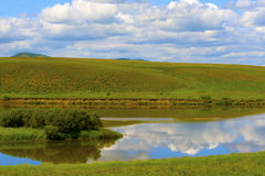 Paisaje del prado Foto de archivo
