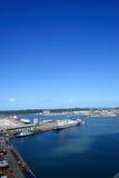 Paisaje del puerto Foto de archivo
