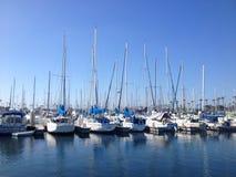 Paisaje del puerto deportivo de Long Beach Imagen de archivo libre de regalías