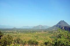 Paisaje del punto de visión de Payathonsu Foto de archivo libre de regalías