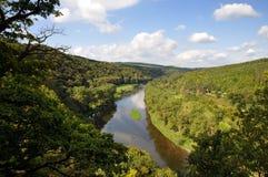 Paisaje del río Fotografía de archivo libre de regalías
