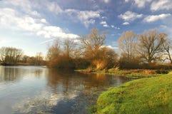 Paisaje del río Imagen de archivo