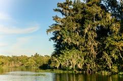 Paisaje del río Fotos de archivo