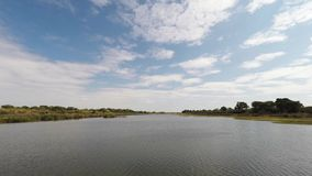 Paisaje del río de Olifants, escénico y colorido almacen de metraje de vídeo