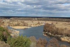 Paisaje del río de Voronezh Fotografía de archivo libre de regalías
