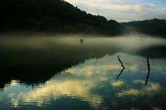 Paisaje del río de Xiaodong Foto de archivo