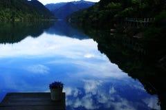 Paisaje del río de Xiaodong Fotos de archivo libres de regalías