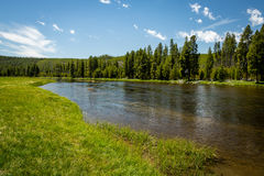 Paisaje del río Snake Fotos de archivo