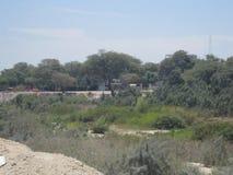 Paisaje del Riverbank fotos de archivo libres de regalías